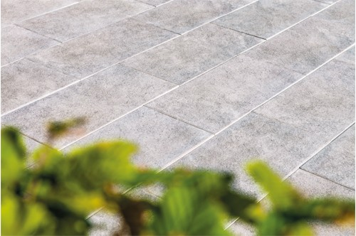 Terrassenplatte Asparo 80x40x4 cm quarz