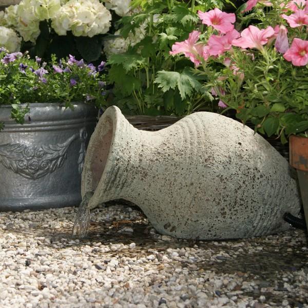 Wasserspiel Amphore Larissa 30x53x34 cm Keramik