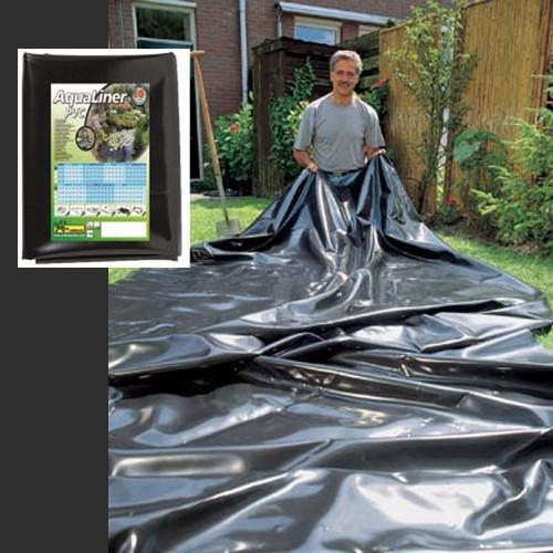 Teichfolie | 4 x 4 m | 0,5 mm - AquaLiner PVC als Fertigmaß