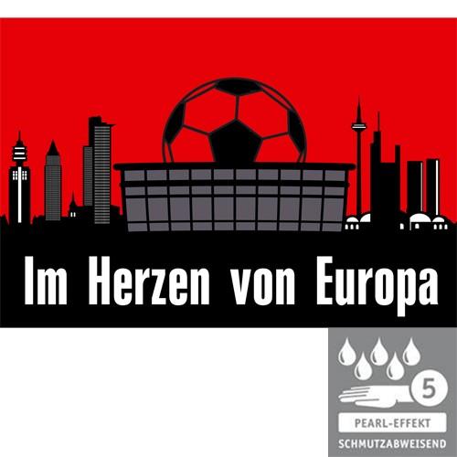 Terrassenplatte 60x40x4 cm Frankfurt Fußball