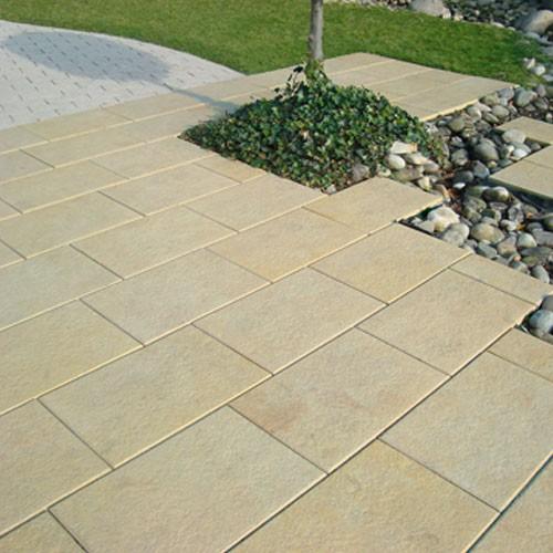 Terrassenplatte Sandstein Gefl 60 40 4cm Die Belgische Ebay