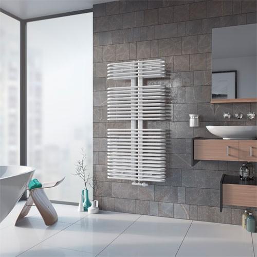 Badheizkörper K3 - weiß - 2 Größen Handtuchwärmer