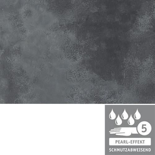 Terrassenplatte 60x40x4 cm basalt schwarz Marmor Optik