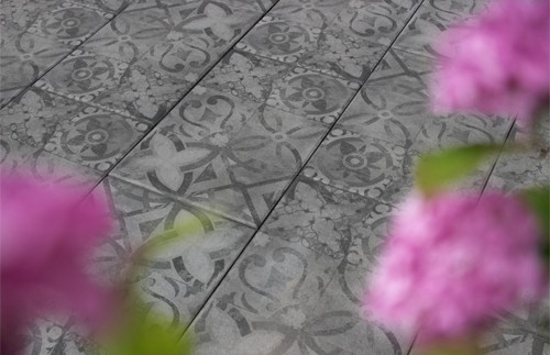Terrassenplatte Ornamento Latio® 60x40x4cm