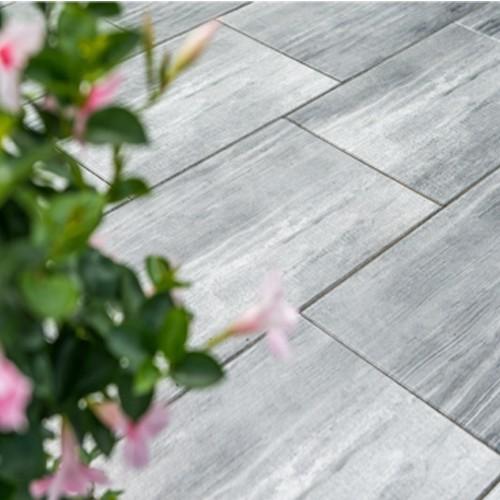 Terrassenplatte Xx Cm Holzoptik Quarz Grau Weiß EBay - Terrassenplatten holzoptik 4cm