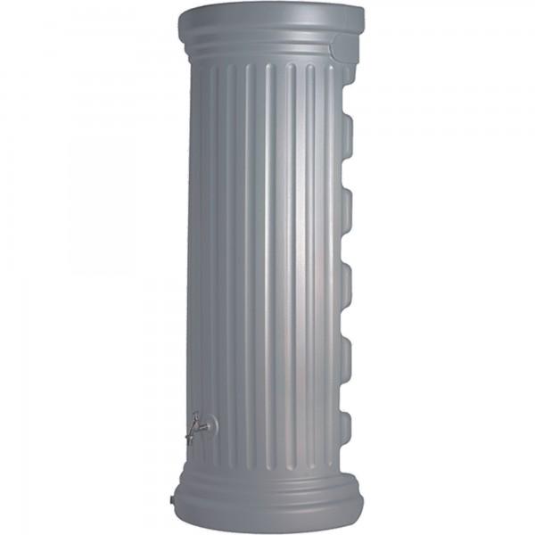 Regenwasserspeicher Wandtank Säulenoptik steingrau 550 L Detail