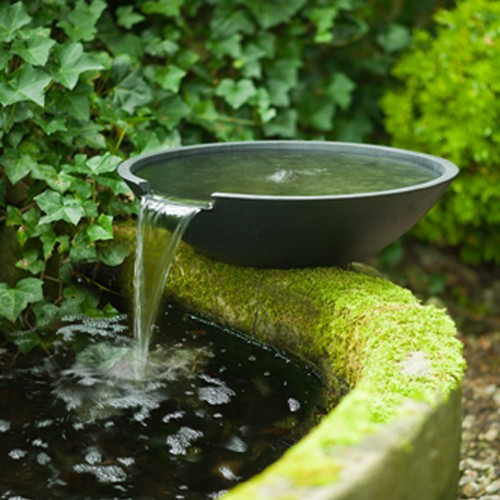 Wasserfall-Schale - Nova - Wasserspiel Gartenteich