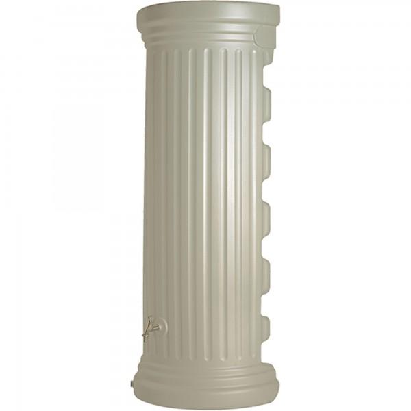 Regenwasserspeicher Wandtank Säulenoptik sandbeige 550 L Detail