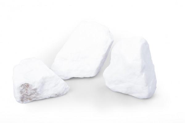 Schneeweiss 50 - 150 mm Steinmauer Gabione