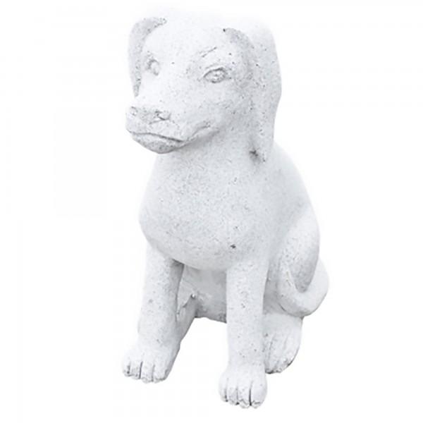 Steinskulptur Hund