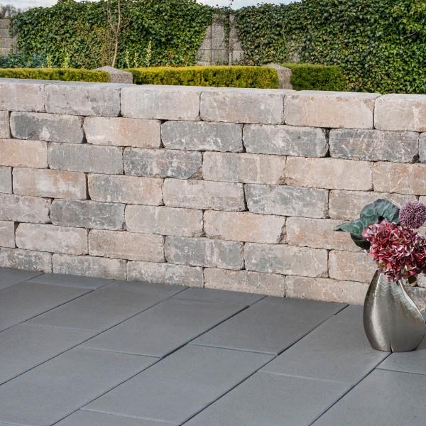Mauerstein Antik muschelkalk