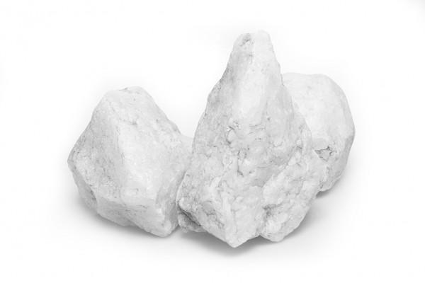 Kristallquarz weiss 100-200 mm Gabione Quarz