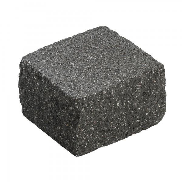 Mauerstein Siola Medio 21x21x12,5 cm schwarz