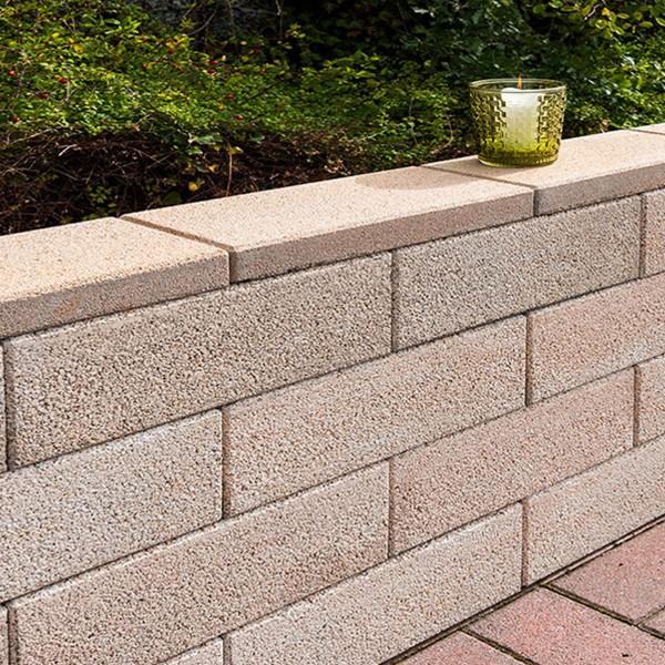 Mauerstein Lisco Eco 45x22,5x16,5 cm sandstein