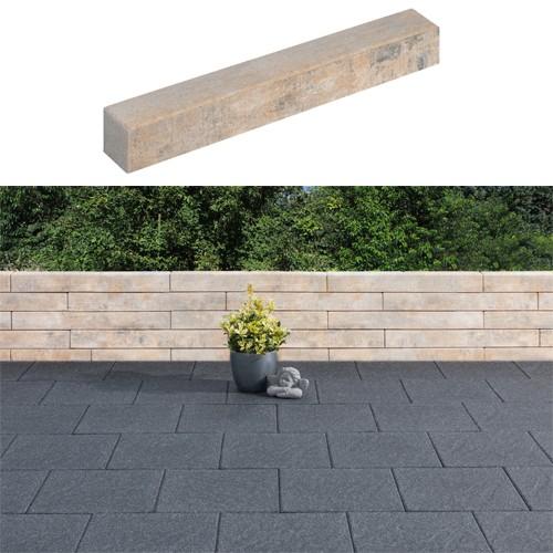 Mauerstein Lisco Kombi 80x12,5x12,5 cm muschelkalk
