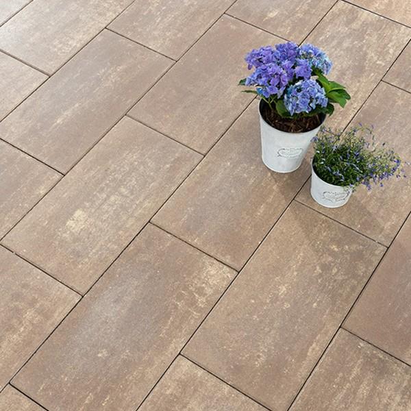 Terrassenplatte Diora braun umbra 60x30x5cm