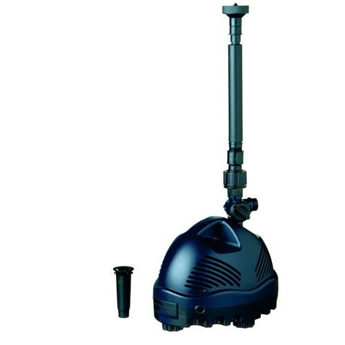 Springbrunnenpumpe 11 Watt Elimax 500 - Gartenteich - Wasserglocke und Vulkan