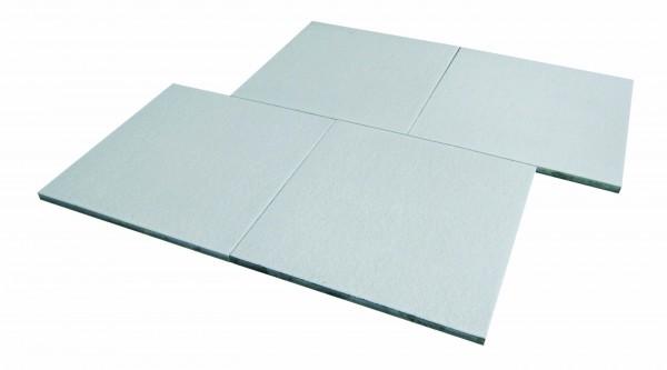 Terrassenplatte Grau Weiss 80 80 4cm Die Belgische Ebay
