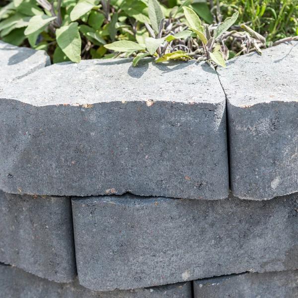 Mauerstein Floro 25x18x14x10 cm quarzit