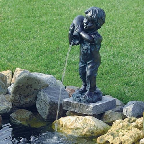 Wasserspeier Junge Yannick für den Gartenteich