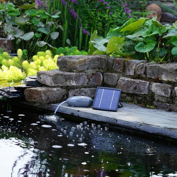 Air Solar Outdoor Sauerstoffpumpe Gartenteich