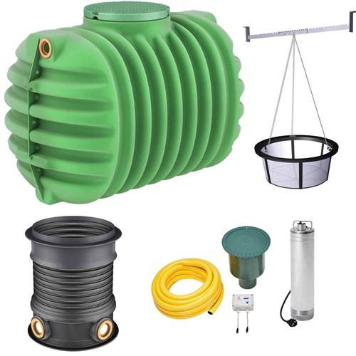 Cristall Gartenpaket ProLine 1600 L Regenwassertank