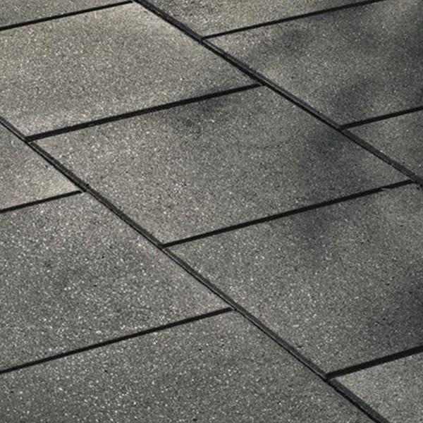 Terrassenplatte Via basalt mit Glimmer 40x40x4 cm Beispiel