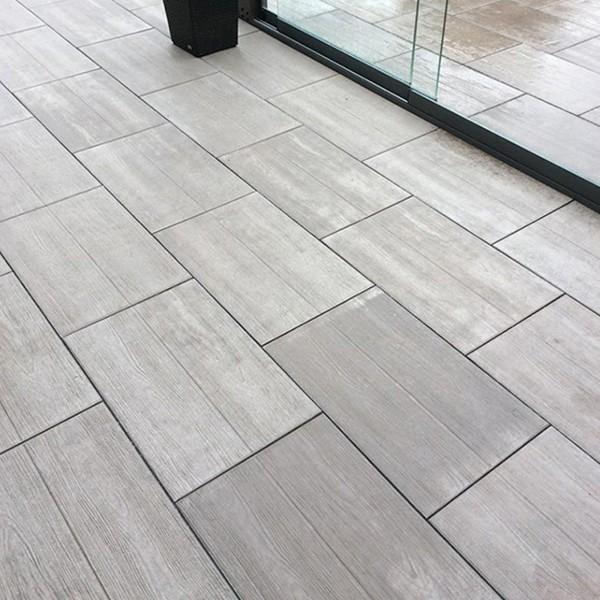 Terrassenplatte 60x40x4 cm braun Nartura