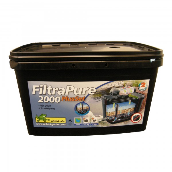 FiltraPure 2000 Einkammerfilter inkl UV-C Gerät