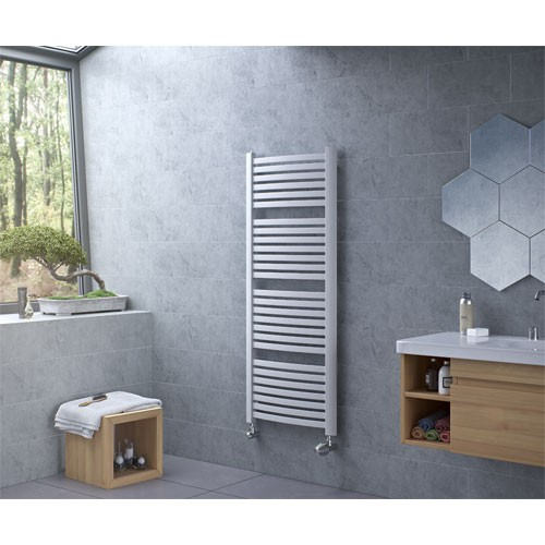 Badheizkörper K4 - weiß - elegant - Handtuchhalter Handtuchwärmer