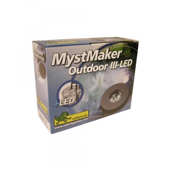 Teichnebler Mystmaker mit LED Licht - Gartenteich