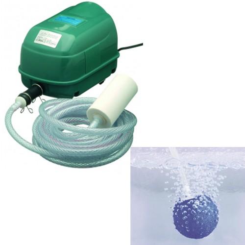 Belüftungspumpe Air 2000 für Gartenteich - Sauerstoffpumpe - Indoor