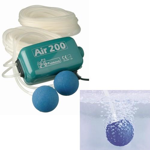 Belüftungspumpe Air 200 für Gartenteich - Sauerstoffpumpe - Indoor