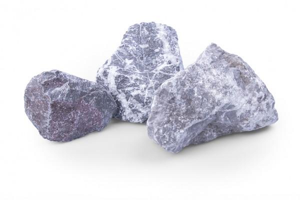 Zuckerstein 80-120 mm grau weiss braun Gabione