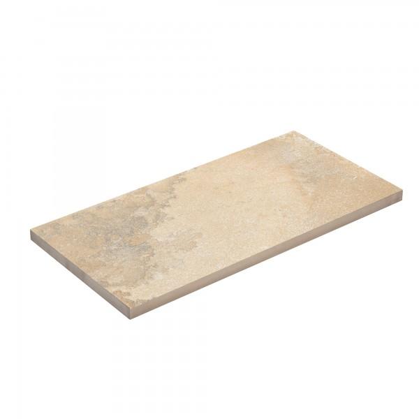 Terrassenplatte Ceramia Pierra sandstein 80x40x3 cm