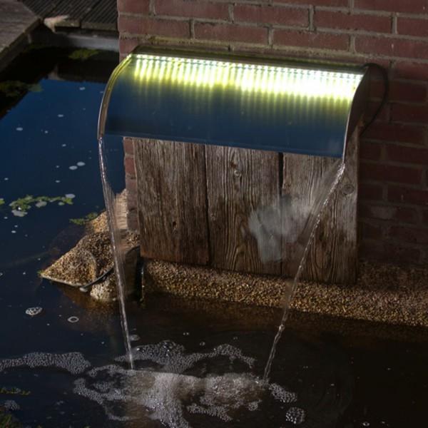 Wasserfall Set Nevada mit LED 30 cm
