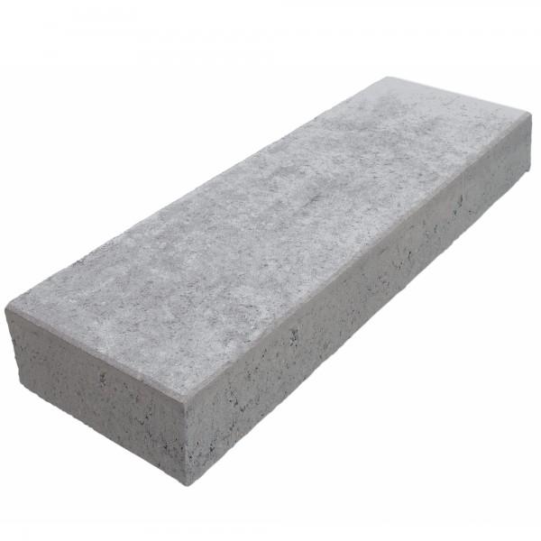 Blockstufe Beton grau 75 x 35 x 15 cm