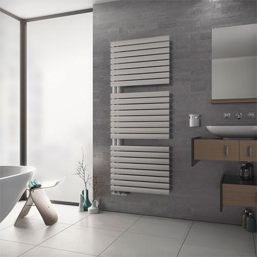 Badheizkörper Fortuna Open - weiß - Paneelheizkörper - Handtuchhalter