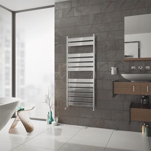 Badheizkörper C6 - chrom - modern - Handtuchwärmer