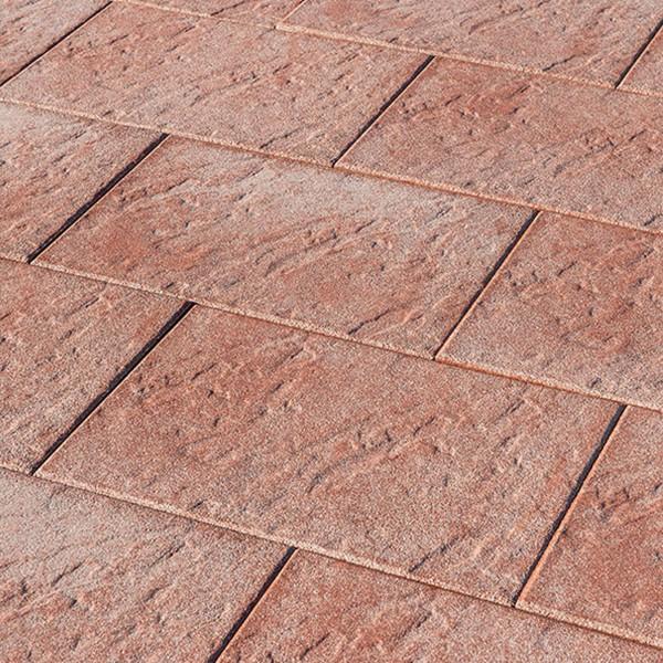 Terrassenplatte Grandia rot 60x40x4 cm