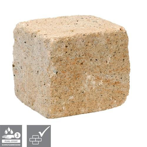 Trockenmauerstein Sandstein 15/16,5/15cm SIOLA®-MINI PE3