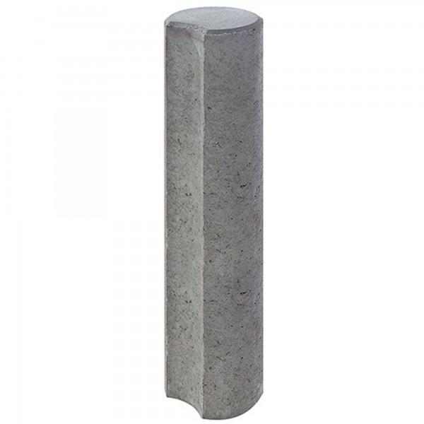 Verbundpalisade grau 200x20 cm