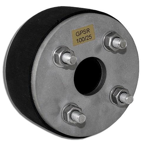 Ringraumdichtung Kabeldurchführung DN 100 für 1 Kabel DN 25