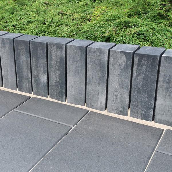 Mauerstein Lineo Kombi 40x12,5x12,5 cm quarzit Palisade