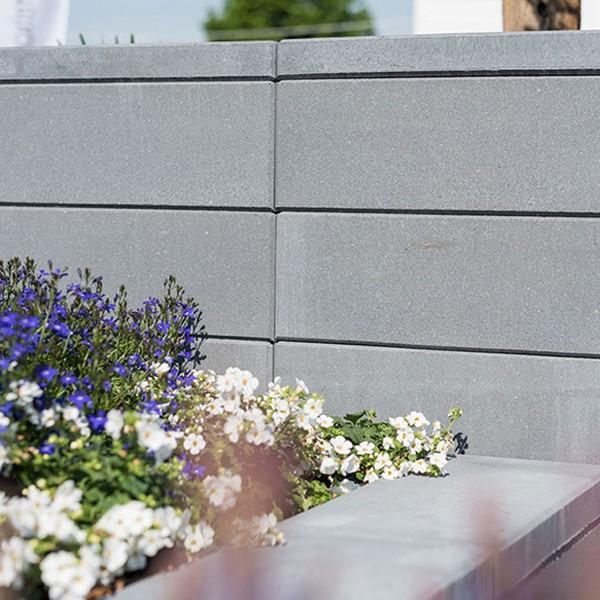 Mauerstein Lisco 45x22,5x16,5 cm quarz mit Glimmer