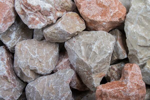 Alazana 45-60 mm Steinschlag rot braun beige