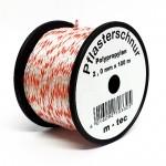 Pflasterschnur / Maurerschnur rot/weiß 100m 2,0mm
