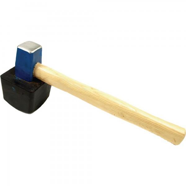 Plattenlegerhammer eckig