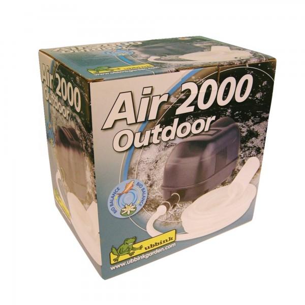 Sauerstoffpumpe Gartenteich Air 2000 Outdoor