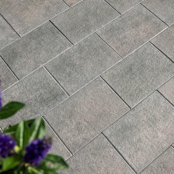Terrassenplatte Caleo 60x40x4 cm basalt Velregbeispiel